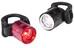 Lezyne Femto Drive Pair Zestaw oświetlenia rowerowego czerwony/czarny